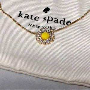 Kate spade sunflower necklace